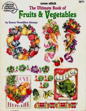 Algemeen | American School of Needlework | 3671: nog 1 x, only 1 x (ASN-3671) | Fruits & vegetables, American School of Needlework