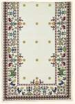 Tablecloth counted cross stitch | Eva Rosenstand | 02-1032 | Eva Rosenstand,  table runner: counted cross stitch: 46 x 100 cm