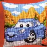 Cushion printed cross stitch Disney | Vervaco | 2575/8591: NOG 1 X, ONLY 1 X (PN-0014611) | Vervaco, Sally pre-stamped, cushion