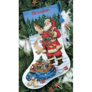 Kerst | Dimensions | 8645 (PN-0142189-8645) | Checking his list stocking: Dimensions